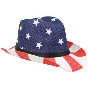 c84aee0e82a Accessories - KIDS AMERICAN FLAG COWBOY HAT 54CM